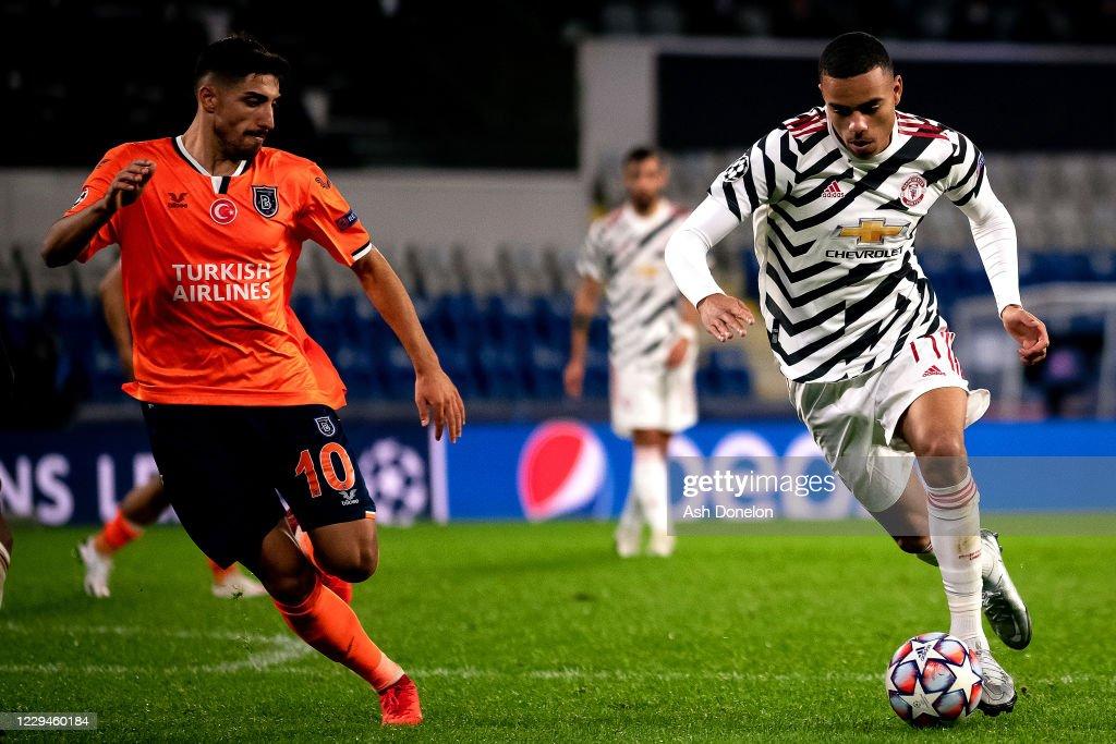 Istanbul Basaksehir v Manchester United: Group H - UEFA Champions League : News Photo