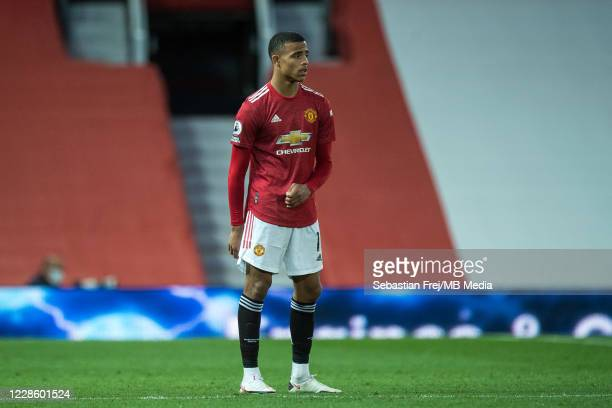 Mason Greenwood of Manchester United during the Premier League match between Manchester United and Crystal Palace at Old Trafford on September 19...