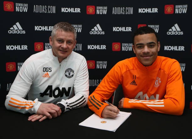 GBR: Mason Greenwood Signs a New Contract with Manchester United