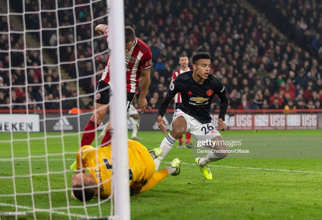 Sheffield United v Manchester United - Premier League : News Photo