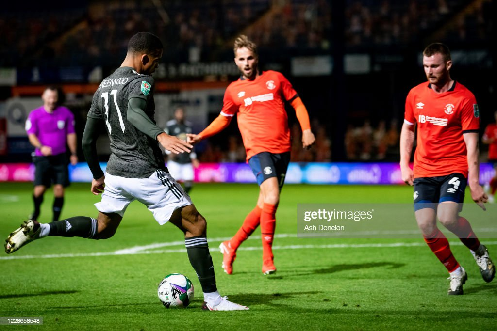 Luton Town v Manchester United - Carabao Cup Third Round : News Photo