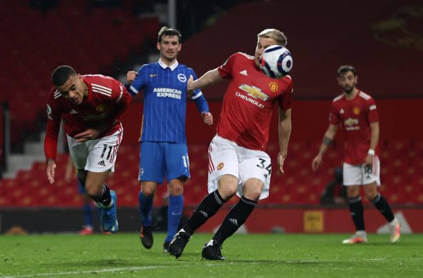 GBR: Manchester United v Brighton & Hove Albion - Premier League