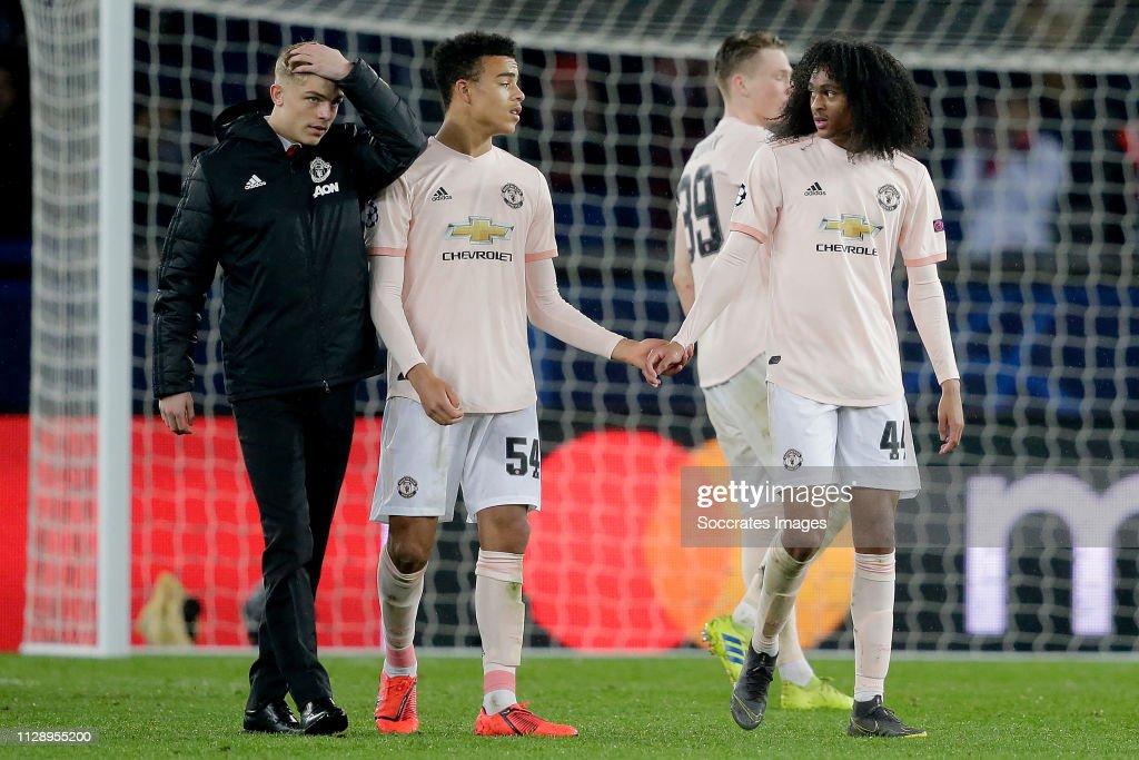 Paris Saint Germain v Manchester United - UEFA Champions League : News Photo