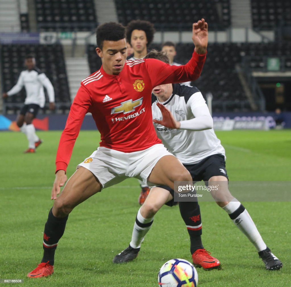 Derby County v Manchester United: FA Youth Cup : News Photo