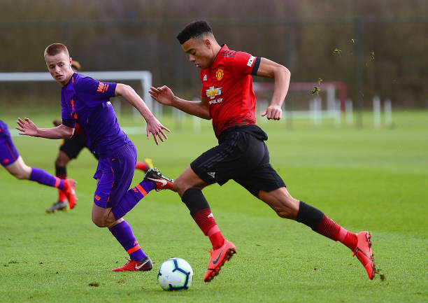 GBR: Manchester United v Liverpool: U18 Premier League