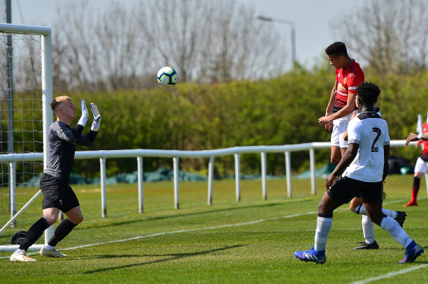 GBR: Derby County v Manchester United: U18 Premier League