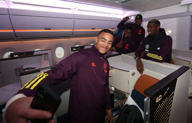 GBR: Manchester United Travel to Istanbul for the Champions League