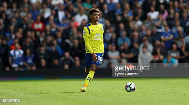 Mason Holgate of Everton during the Premier League match between West Bromwich Albion and Everton at The Hawthorns on August 20 2016 in West Bromwich...
