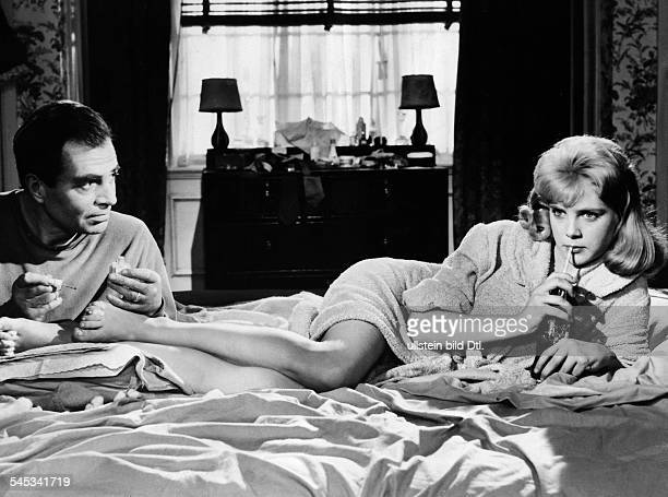 Mason James *Schauspieler GB mit Sue Lyon in dem Film 'Lolita' nach demRoman von Vladimir Nabokov 1961