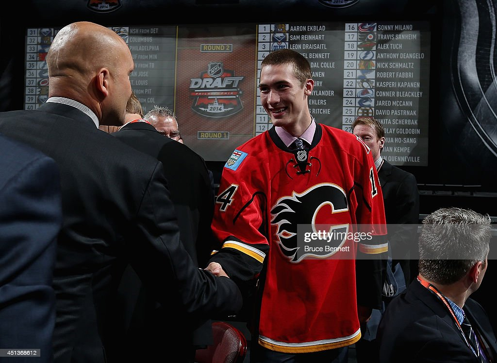 2014 NHL Draft - Rounds 2-7 : News Photo