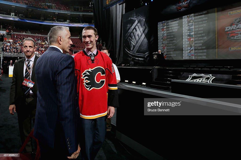 2014 NHL Draft - Rounds 2-7 : News Photo