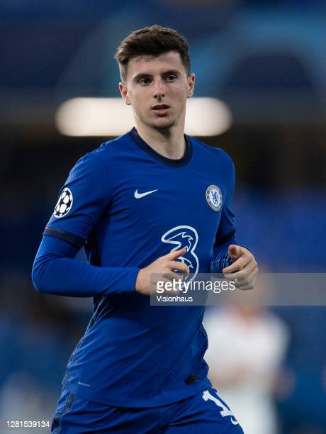 Mason Mount of Chelsea during the UEFA Champions League Group E stage match between Chelsea FC and FC Sevilla at Stamford Bridge on October 20 2020...
