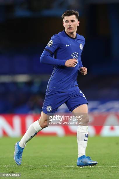 Mason Mount of Chelsea during the UEFA Champions League Semi Final Second Leg match between Chelsea and Real Madrid at Stamford Bridge on May 5, 2021...