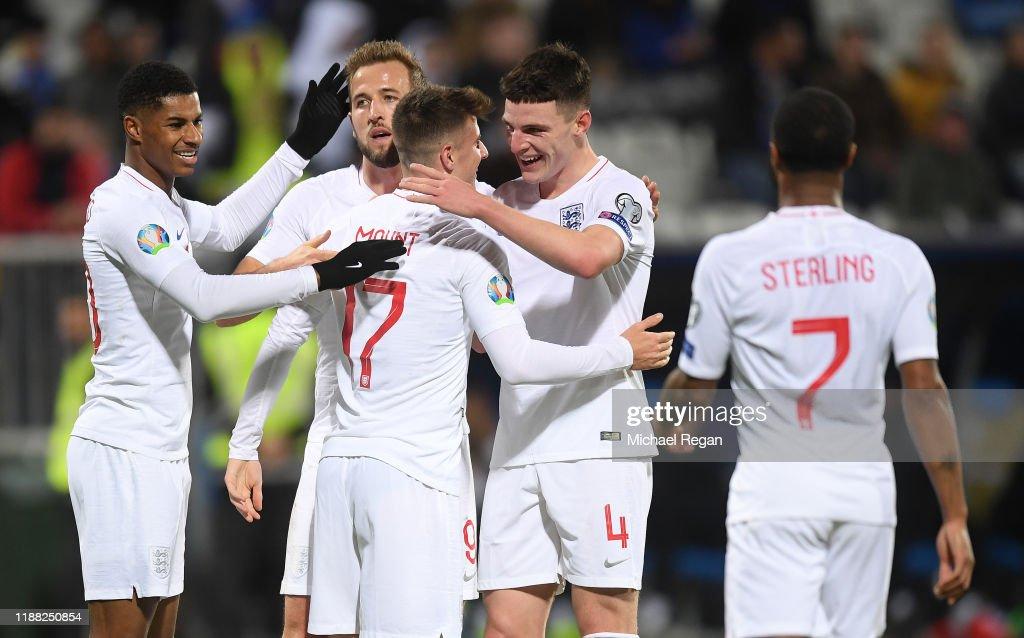 Kosovo v England - UEFA Euro 2020 Qualifier : Fotografia de notícias