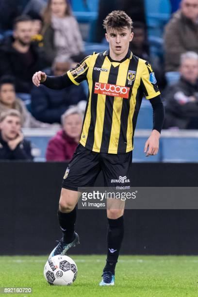 Mason Mount of Vitesse during the Dutch Eredivisie match between Vitesse Arnhem and Willem II Tilburg at Gelredome on December 13 2017 in Arnhem The...
