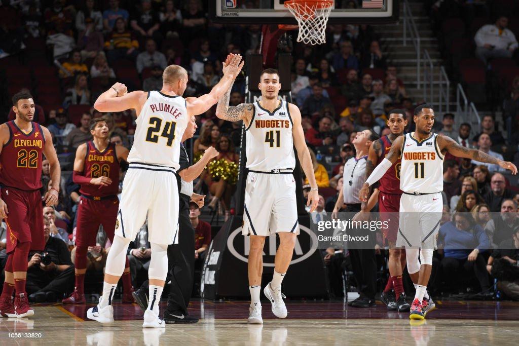 Denver Nuggets v Cleveland Cavaliers : Foto di attualità