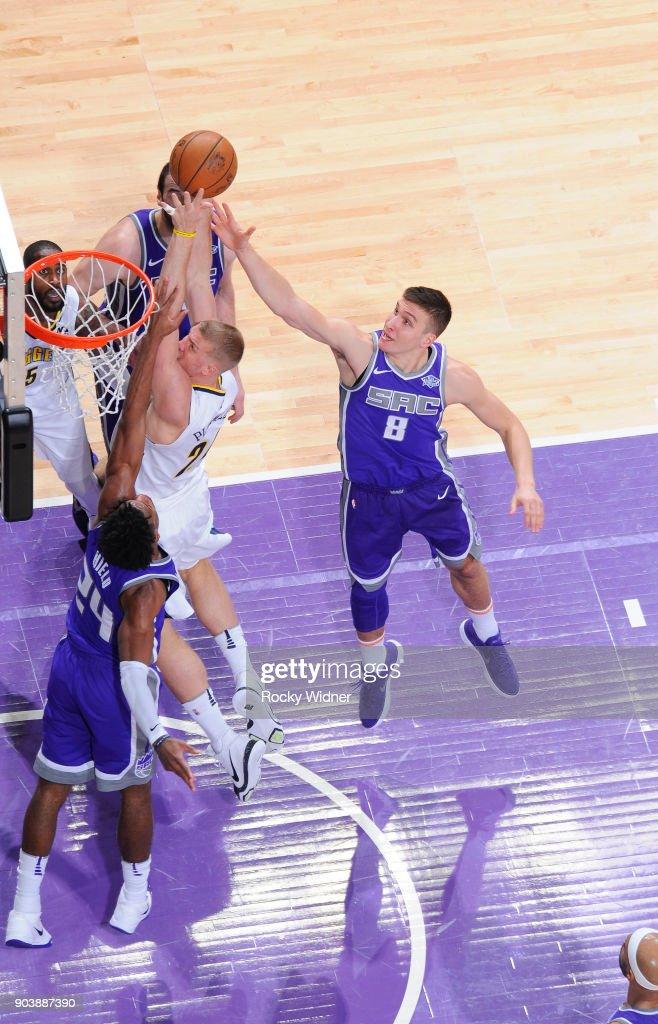 Denver Nuggets v Sacramento Kings : News Photo