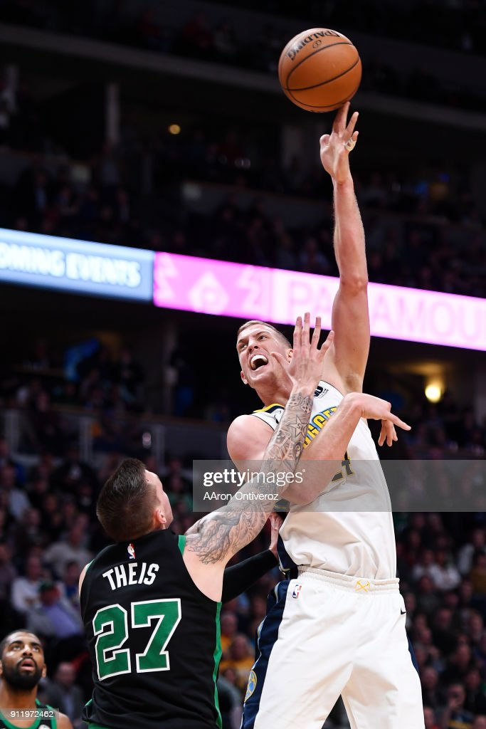 NBA, Denver Nuggets vs Boston Celtics : News Photo