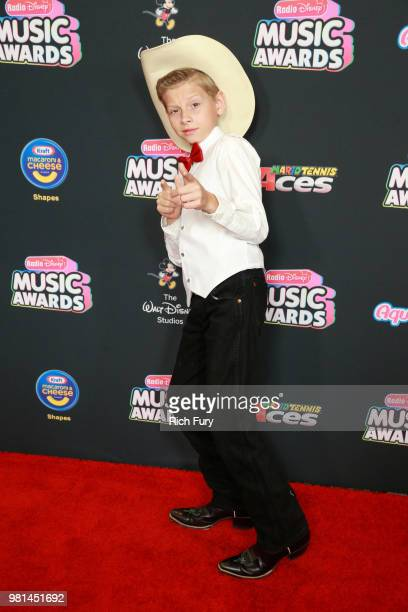 Mason Ramsey attends the 2018 Radio Disney Music Awards at Loews Hollywood Hotel on June 22 2018 in Hollywood California