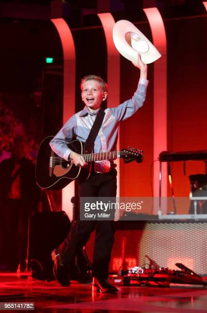 Mason Ramsey performs onstage during the 2018 iHeartCountry Festival By ATT at The Frank Erwin Center on May 5 2018 in Austin Texas