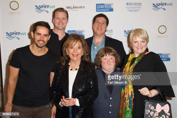 Mason Reese Dawn Wells Alison Arngrim Robbie Allen Luis Jose Lopez and Steven Wishnoff from the web series Life Interrupted attend the San Pedro...