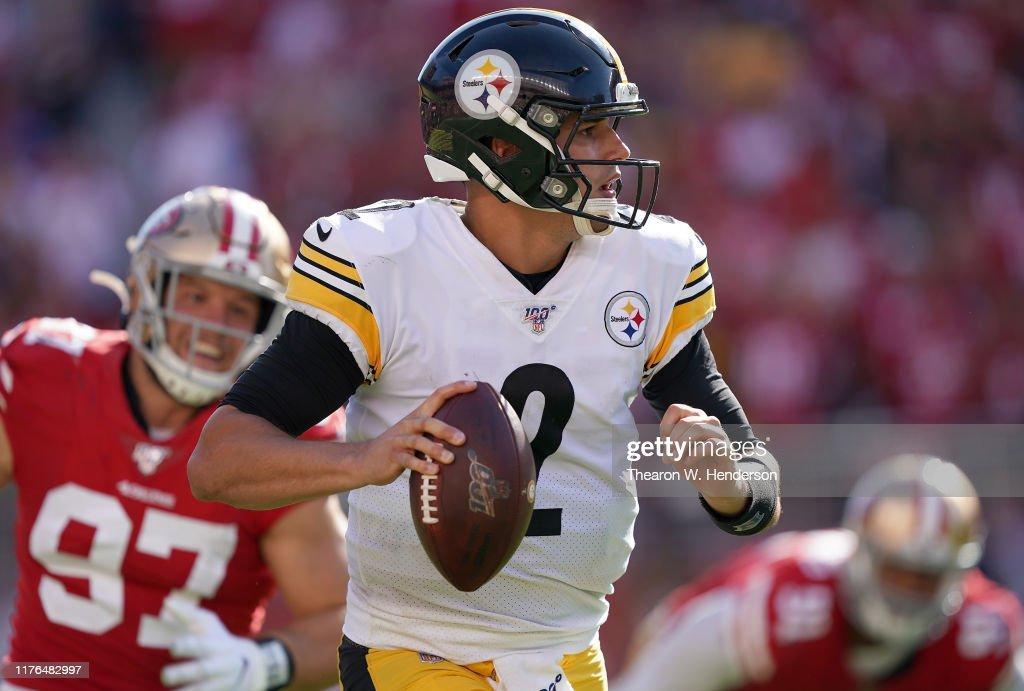 Pittsburgh Steelers vSan Francisco 49ers : ニュース写真