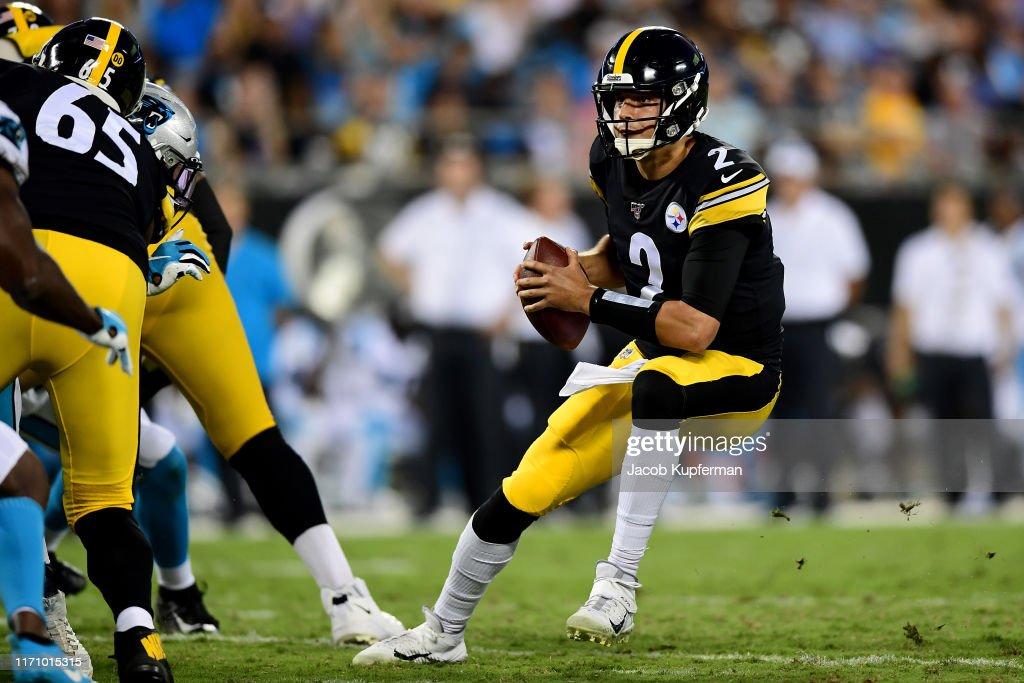 Pittsburgh Steelers v Carolina Panthers : News Photo