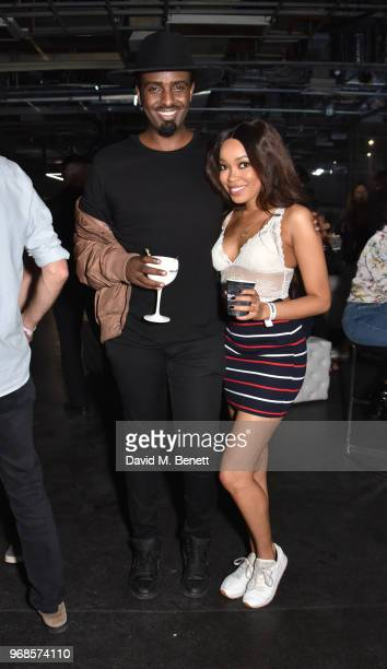 Mason Smillie and Dionne Bromfield attend The Big Session curated by BULLDOG Gin in aid of Nordoff Robbins at The Printworks on June 6 2018 in London