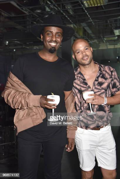 Mason Smillie and Nate James attend The Big Session curated by BULLDOG Gin in aid of Nordoff Robbins at The Printworks on June 6 2018 in London