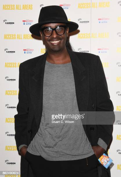 Mason Smillie arrives at the 'Access All Areas' VIP gala screening held at Proud Camden on October 17, 2017 in London, England.