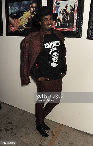 Mason Smillie attends as Diesel Edun present 'Studio Africa' hosted by Boiler Room at the Old Selfridges Hotel on March 5 2013 in London England