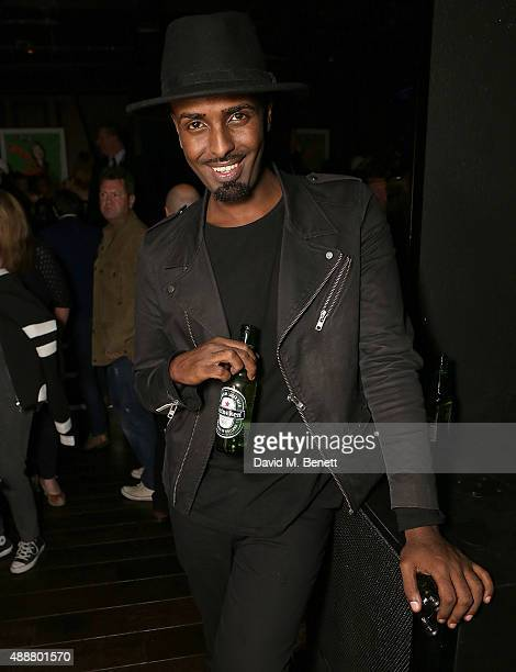 Mason Smillie attends the Antipodium and Double Trouble ANTI party at Tape London on September 17 2015 in London England