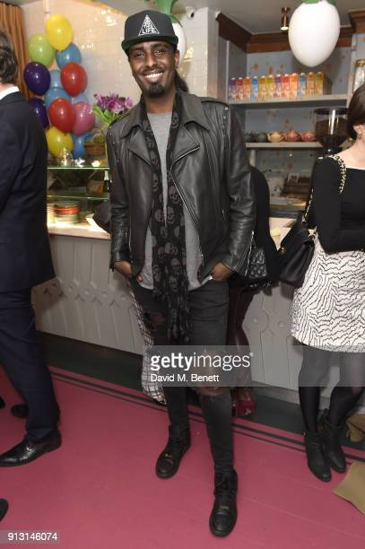 Mason Smillie attends the launch of Farm Girl Chelsea restaurant and bar on February 1 2018 in London England