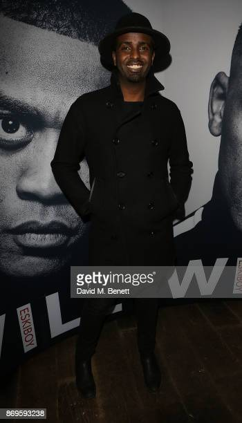 Mason Smillie attends the launch of Wiley's new autobiography Eskiboy at BASEMENT at The London EDITION on November 2 2017 in London England