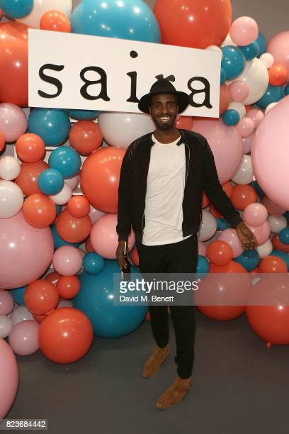 Mason Smillie attends the Saira Shoes Summer Party on Shoreditch High Street on July 27 2017 in London England