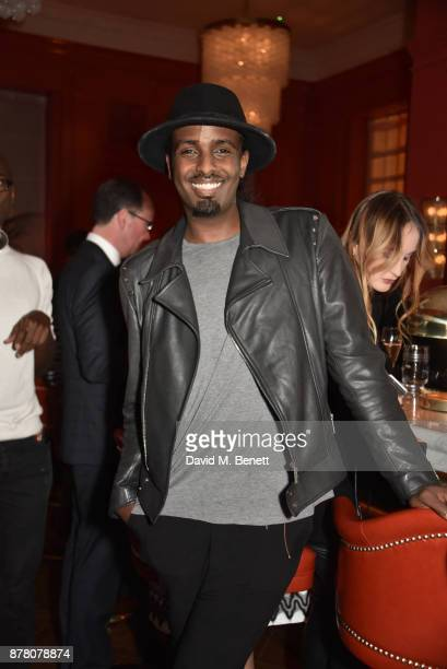 Mason Smillie attends the The Bloomsbury Hotel relaunch party on November 23 2017 in London England
