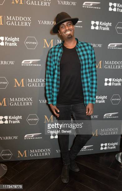 Mason Smillie attends the VIP launch event for 'Pride Rock by David Yarrow' at Maddox Gallery on October 3 2019 in London England