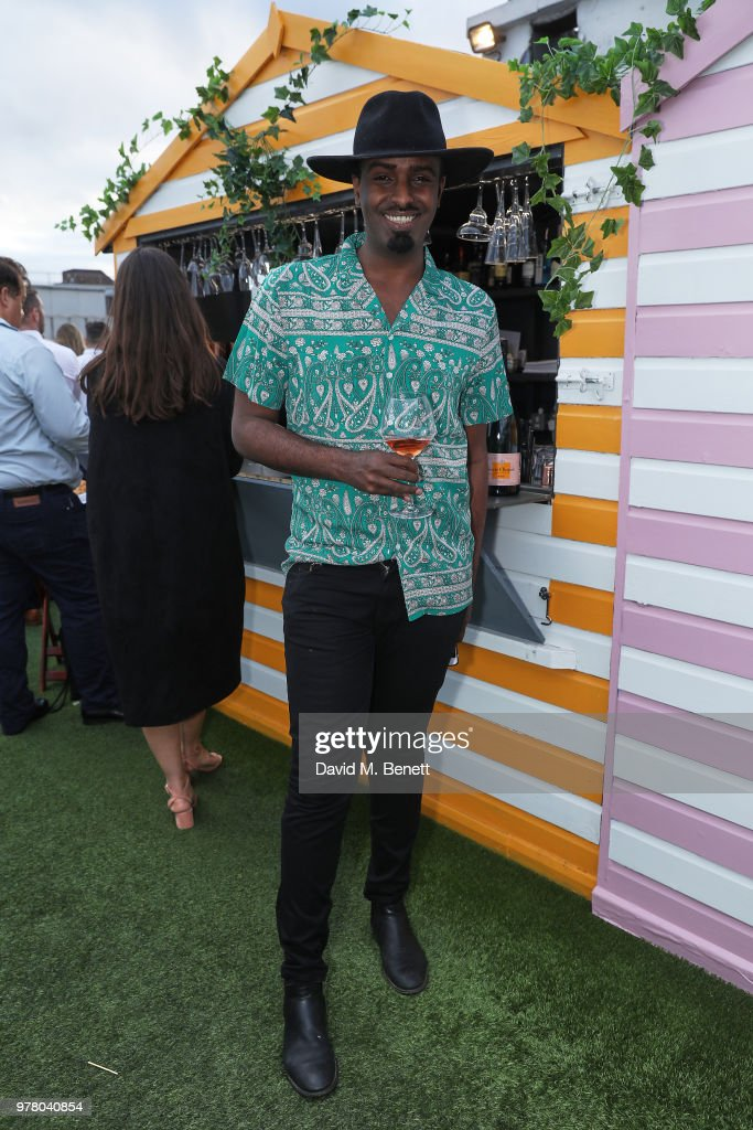 Veuve Clicquot Launches Brose On The Roof At Selfridges : News Photo