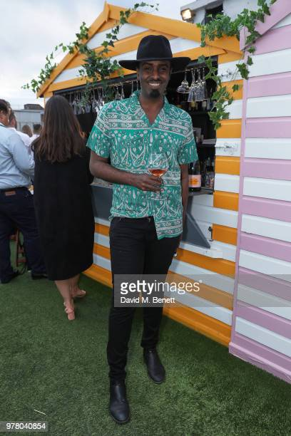 Mason Smillie attends Veuve Clicquot's Brose on the Roof at Selfridges on June 18 2018 in London England