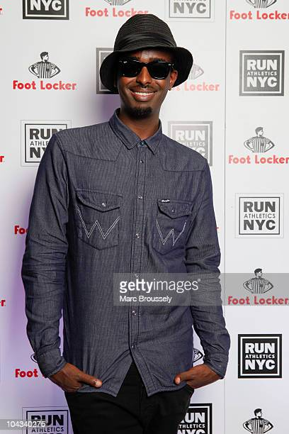 Mason Smillie poses for portraits at Aqua Kyoto to celebrate the launch of Foot Locker's RUN NYC collection by Rev Run on September 21 2010 in London...