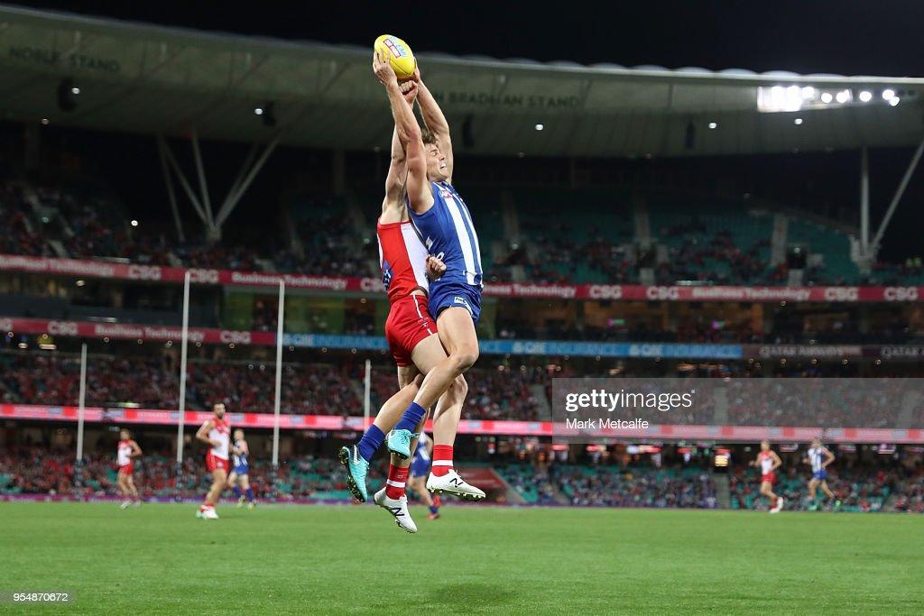 AFL Rd 7 - Sydney v North Melbourne