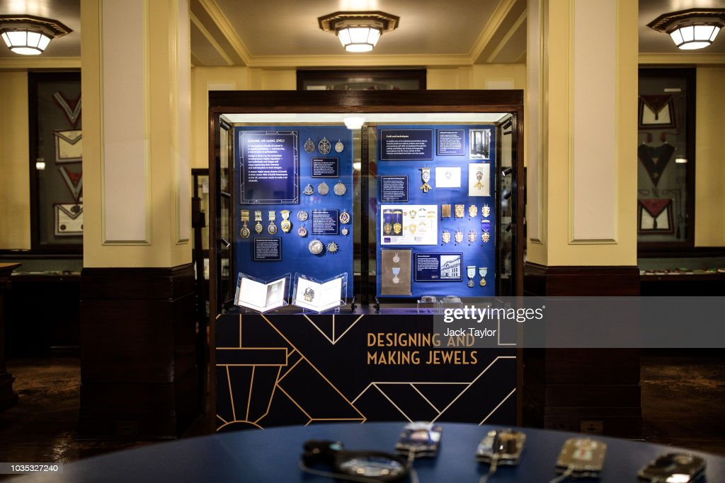The Freemason's Museum Showcases 150 Year Collection Of Masonic Jewels