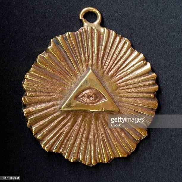 masonic pendant - freemasons stock pictures, royalty-free photos & images