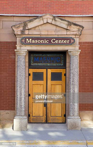 Masonic Temple Entrance - Deadwood, South Dakota