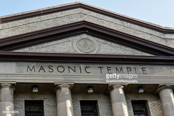 masonic temple, fort collins - freemasons stock pictures, royalty-free photos & images