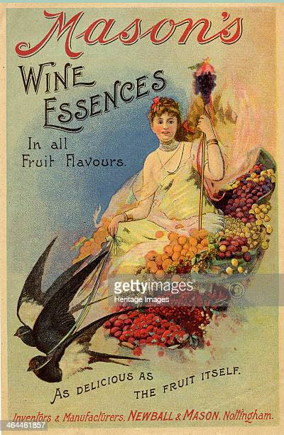 Mason's Wine Essences Newball Mason Nottingham c1900