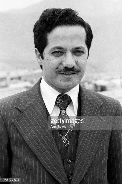 Masoud Barzani at home shortly after succeeded his father Kurdish nationalist leader Mustafa Barzani as leader of the KDP Karaj Teheran 18th March...