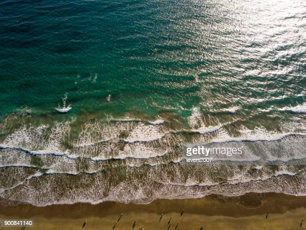 マスパロマス ビーチ、グラン カナリア島、スペイン - オクトコプター ストックフォトと画像