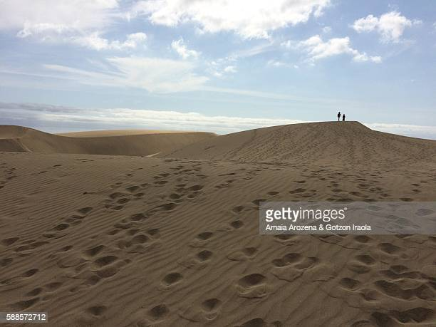Maspalomas dunes in Grand Canary island, Spain