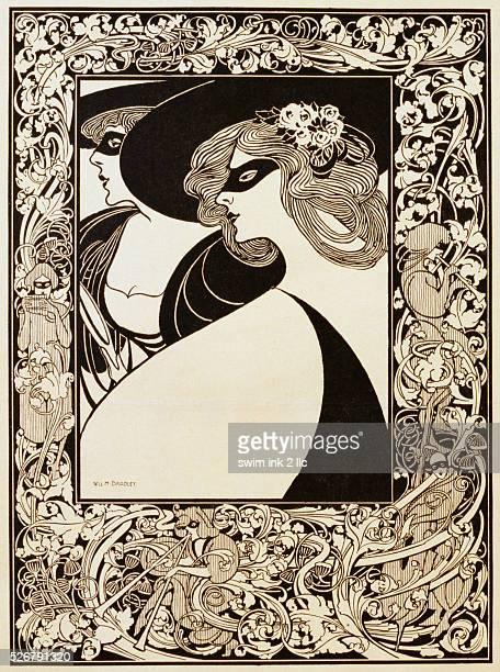 Masquerade Poster by William H Bradley
